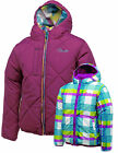Dare2b Flippancy Reversible Girls Padded Quilted Jacket Kids DKN007