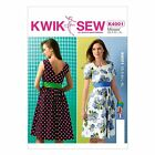 Kwik Sew 4001 Retro Vintage Style 50s 60s Summer Dress Sewing Pattern K4001