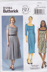 Butterick 5984 Retro 50s Style Short Long Sleeves Straps Dress Pattern B5984