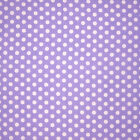 lilac and white polka dot vinyl wipe clean tablecloth SHOP4TABLECLOTHS