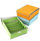 Useful Vogue Bamboo Charcoal Underwear Ties Socks Drawer Closet Storage Box FMUS