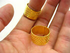 Thimble Sewing Quilting Metal Thimble ring DIY Craft accessory Finger Protector