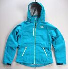 THE NORTH FACE Blue Apex Elevation Softshell Women's Jacket NEW Removable Hood