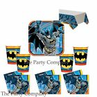 Batman Superhero Boys Birthday Party Plates, Cups, Party Kits, Party Tableware!