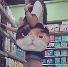 Cute Creative Cat Face Bag Shoulder bag Handbag Trend New Women Girl's Bag