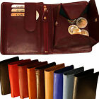 Wallet with Condom compartment Secret Chip Viennese Case Cattle leather 100001S