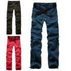 UK NEW Womens Girls Army Combat Cargo Trousers Casual Baggy Hip Hop Work Pants