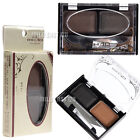 2 Color Natural Trendy Makeup Eyebrow Shading Powder Palette Brown Cosmetic Kit