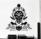 Wall Decal African Mask Symbol Scorpion Tribal Cool Mural...
