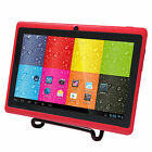 7 Google Android Tablet PC w / Dual Core 8GB Cameras WiFi Multi-Touch - K zNEW