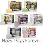 NEW 2016 YANKEE CANDLE Tea lights BUY 2 SAVE £2 Various Fresh Fruit Food Floral