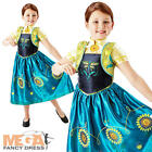 Frozen Fever Anna Girls Fancy Dress Disney Fairytale Kids Childs Costume Outfit
