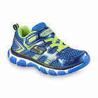 Skechers Kids Sneakers X-Cellorator 11 12 13 2 Boys NEW Blue Lime Shoes
