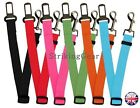 Car Travel Dog Cat Safe Seat Belt Restreint Lead Harness Collar 7 Colours -sg-uk