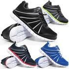 Mens Air Shock Absorbing Light Weight Running Walking Trainers Gym Shoes Size