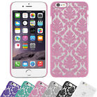 Apple iPhone 6 / 6 Plus - Embossed Blumen Paisley Muster Case Schutzhülle
