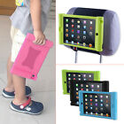 TFY Kids Car Headrest Mount Holder iPad 2 3 4 black/blue/green Silicone Case