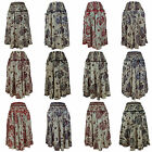 Ladies Skirt Cool Comfortable Lightweight Hippy Hippie Casual Summer Festival