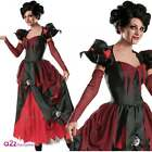"""Nursery Krhymes"" Sinder-Ella Adult Ladies Halloween Vampire Queen Witch Costume"
