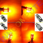 BAU15S 1156, 581, PY21W CANBUS ERROR FREE 18 / 44  LED SMD Indicator Bulb Yellow