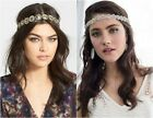 Stephan & Co Seed Bead Headband Head Wrap Hair Band Color Choice