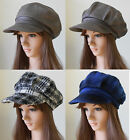 New Women Ladies Newsboy Baker Boy 100% Wool Ballonmütze Hat Beanie Cap