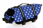 Pet Dog Preserver Life Vest Jacket Aquatic Swimming Water Safety All Size