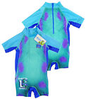 Boy's Monsters Inc University Sully All in One Swim Suit Costume 2-5 yrs NEW