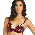NEW Fantasie Ecuador Gathered Full Cup Bikini Top Magenta 5916 VARIOUS SIZES