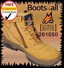 New Mongrel Women's Work Boots Steel Toe Cap/Safety ZIP Side+Lace EXPRESS 261050