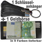 1 Dollarclip Purse + 1 Keychain with Leather bag / Purse Wallet