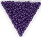 Glass Round Seed Beads  Opaque  Metallic  & Pearl Colors 6-0  8-0  & 12-0 Sizes