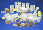 Square Coin-Tubes  for  1oz  Am Silver Eagle Coins   * PVC-FREE *   US-Made