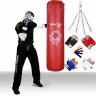 TurnerMAX Heavy Duty Boxing Punch Bag MMA Punching Training Muay Thai kickboxing