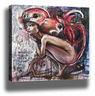 HERAKUT MONKEY GRAFFITI STREET ART HIGH QUALITY MODERN CANVAS PRINT WALL DECOR