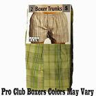 2 New PROCLUB mens underwear Trunk Boxer Shorts PRO CLUB Big & Tall Size 4X - 7X
