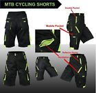 NEW Features MTB Cycling Shorts,Mountain Biking,Off Rd,Padded Inner Liner
