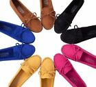 New Women's Flat Gommini Loafers Casual Comfortable Shoes Solid Color XWD544
