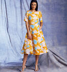 Vogue 1397 Flared Dress Full Skirt Ruffles Spring Summer 2014 V1397