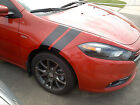 "4"" Fender Hash Mark Stripe Stripes PAIR FIT 2010 - 2018 DODGE DART $28.0 USD on eBay"