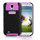 Hybrid Slim Hart&Soft Shockproof Armor TPU Skin Case Cover For Samsung Galaxy S4