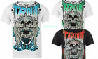 """New BIG Mens TAPOUT T-Shirt XL-3XL 47-52"""" Chest  MMA Skull/Rock/Motorcycle/Goth"""