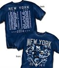 New York Yankees Team Roster 2014 T-Shirt - Adult Sizes Brand New