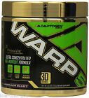 ADAPTOGEN Science WARP 5 Crazy Pre Workout Energy Focus Pump Strength 30 serv