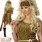 Cavewoman Ladies Fancy Dress Prehistoric Book Day Week Womens Adults Costume