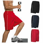 Mens Casual Active Sports Football Shorts Gym Running Fitness Training Cool Long