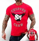 49 Hells Angels Chopper Crew Support81 Spain red Biker T-Shirt Medium - XXXXXL