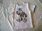 NWT GYMBOREE SPACE VOYAGER HIGH FIVE SILVER ALIEN MONSTER GLOW IN DARK TOP SHIRT