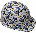 """WILD-SIDE"" ""BATMAN"" FULLBRIM and CAP STYLE HYDRO DIPPED Safety Hard Hats"