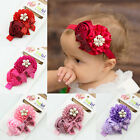 Baby Girls Infant Toddler Flower Bow Hairband Headband Headwear Hair Accessories